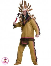 Strój Indianin i Tomahawk