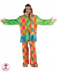 Strój Hippie Kolor