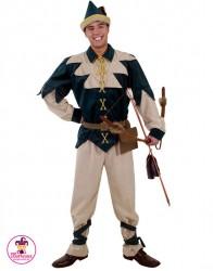 Strój Robin Hood Uśmiechnięty