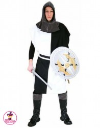 Kostium Rycerz Biało-Czarny