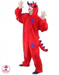 Strój Monster czerwony