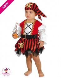 Kostium Piratka Mini