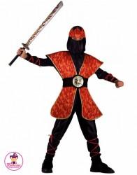 Kostium Ninja Płomień