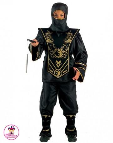 3764dee3e6f573 Kostium Ninja czarny - Wypożyczalnia Strojów Morfeusz|stroje.com.pl