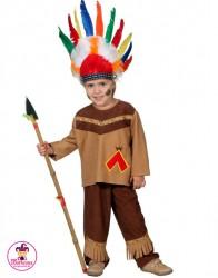 Kostium Indianin z włócznią