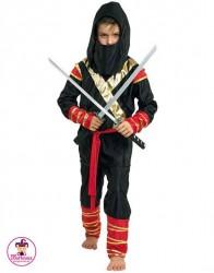 Strój Ninja Złoty