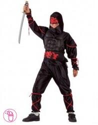 Kostium Ninja czarny II