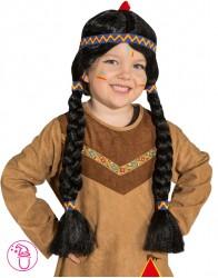Peruka dziecięca Indianka
