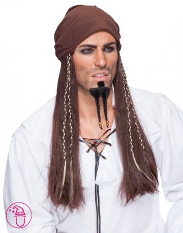 Peruka męska Caribic Pirat 30805