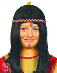 Peruka dziecięca Indianin 30022