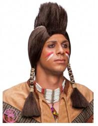 Peruka męska Indianin 32411
