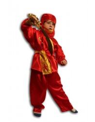 Strój Ninja czerwony