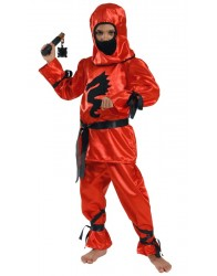 Ninja czerwony